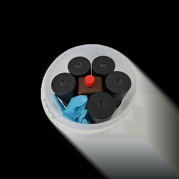 Tupoleum pakket met 5 geurzuilen - 1 liter tupoleum